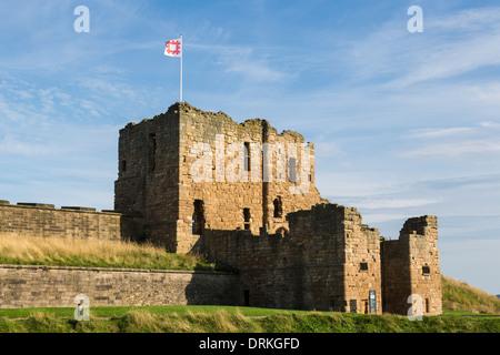 Tynemouth Priory, Tynemouth, England - Stock Image