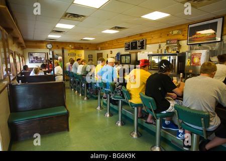 Moody's Diner Waldoboro, Maine - Stock Image