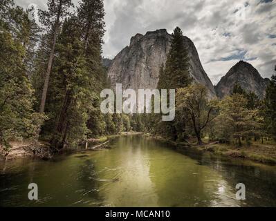 Yosemite National Park - California - Stock Image