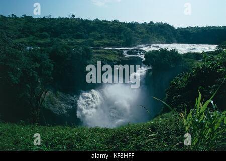 UGANDA KABALEGA FALLS NP (Murchison Falls) - Stock Image