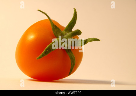 Yellow tomato 2 of 2 - Stock Image