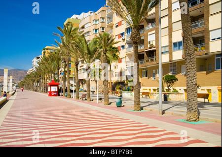 Esplanade, Alicante, Costa Blanca, Spain - Stock Image