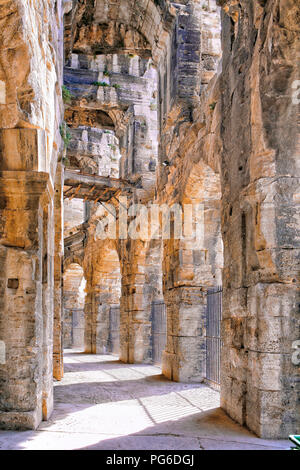 Arles Amphitheatre - Stock Image