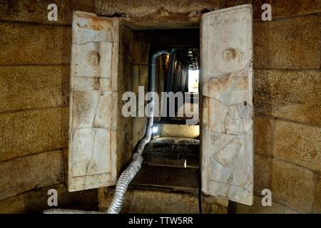 Kostmatka Funeral tumulus -Valley of the Thracian Kings in Kazanlak- Province of Stara Zagora.BULGARIA - Stock Image