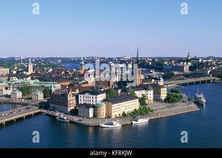 Sweden Stockholm Gamla Stan - Stock Image
