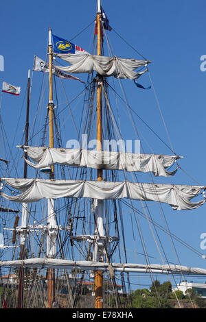 30th Annual Toshiba Tall Ships Festival in Dana Point Harbor Southern California - Stock Image