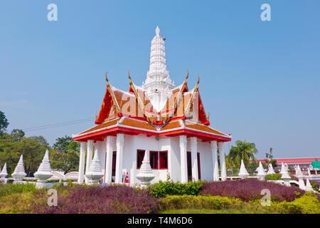 City Pillar Shrine or San Lak Mueang, Phetchaburi, Thailand - Stock Image