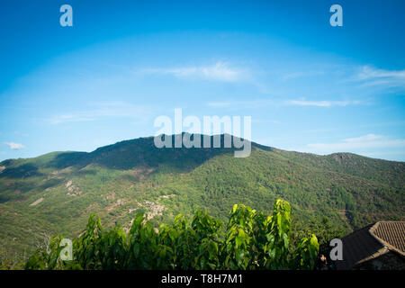 Mountains and valley - Stock Image