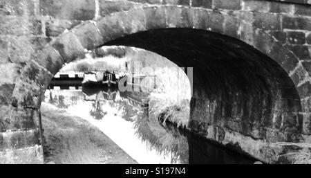 Under the bridge! - Stock Image