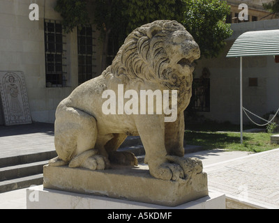 Lion in damascus - Stock Image