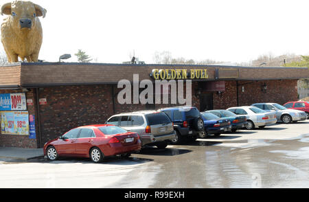 The Golden Bull Reataurant in Adelphi, Maryland - Stock Image