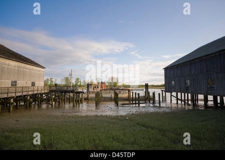 Britannia Heritage Shipyard, Richmond, British Columbia, Canada - Stock Image
