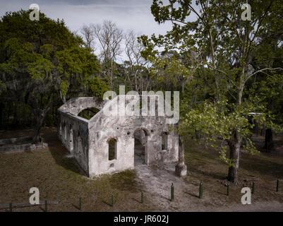 Chapel of Ease, South Carolina - Stock Image