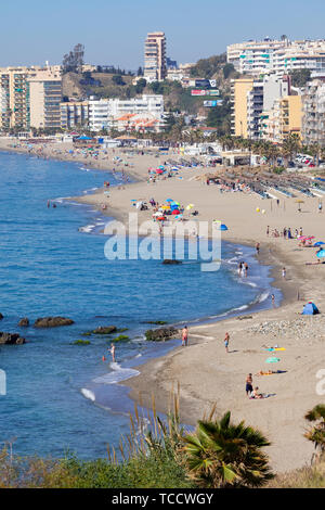 Carvajal, Costa del Sol, Malaga Province, Andalusia, southern Spain. - Stock Image