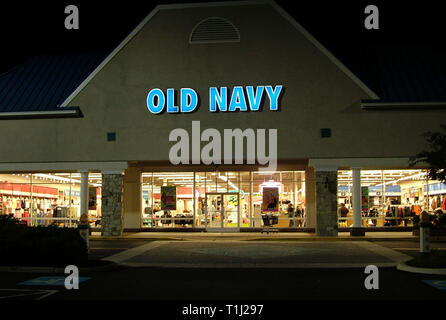 Old Navy Store, Annapolis, Md - Stock Image
