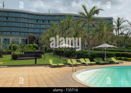 A view of the Sofitel Hotel in Sipopo near Malabo  in Equatorial Guinea on the island of Bioko, Africa - Stock Image
