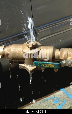Water Leak - Stock Image