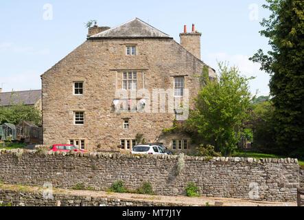 Stanhope Old Hall, Stanhope, Co. Durham, England, UK - Stock Image