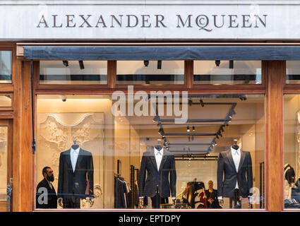 Alexander Mcqueen in Savile Row London Britain - Stock Image