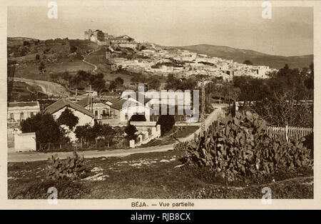 General view of Beja, Tunisia, North Africa. - Stock Image