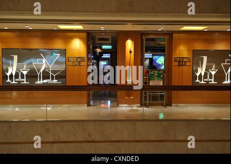 The Martini Bar, Hongkong CN - Stock Image