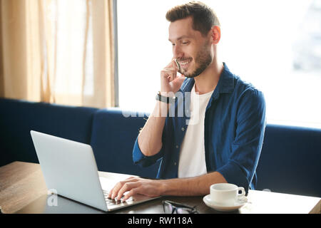 Man with gadgets - Stock Image