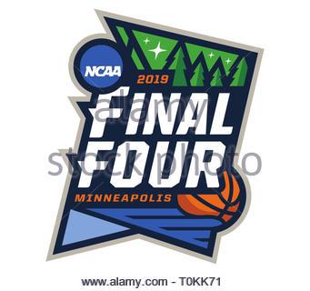 NCAA Basketball Tournament logo icon - Stock Image