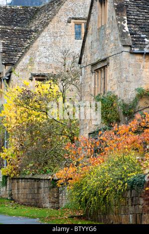 Broadway cottages, Cotswolds, Worcs, UK - Stock Image