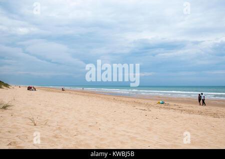 Ninety Mile Beach at Woodside, South Gippsland, Victoria, Australia - Stock Image