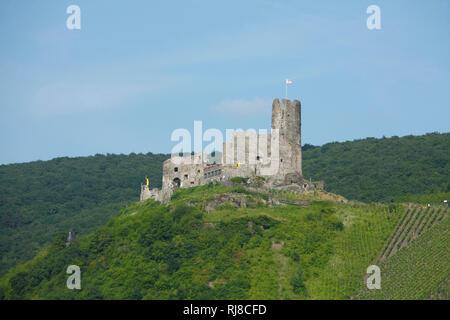 Burg Landshut, Bernkastel-Kues, Rheinland-Pfalz, Deutschland - Stock Image