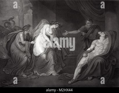 Anthony and Cleopatra, 1st Century BC - Stock Image