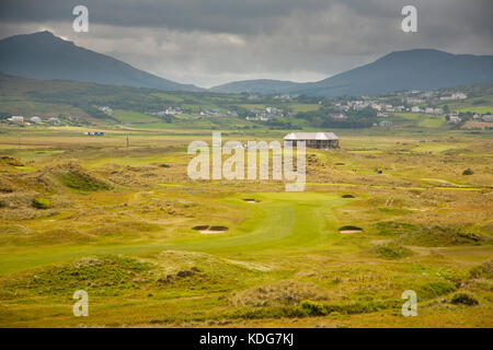 Ballyliffin Golf Course, Donegal, Ireland, host of the 2018 Irish Open - Stock Image