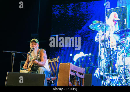 Southsea, Hampshire, UK. 24th August, 2014. Victorious Festival - Sunday, Southsea, Hampshire, England.  Seasick - Stock Image