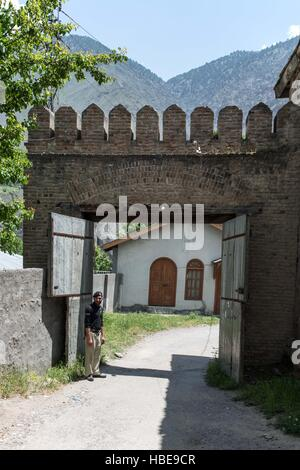 Gateway to Chitral Fort. - Stock Image