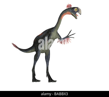 dinosaur Gigantoraptor - Stock Image