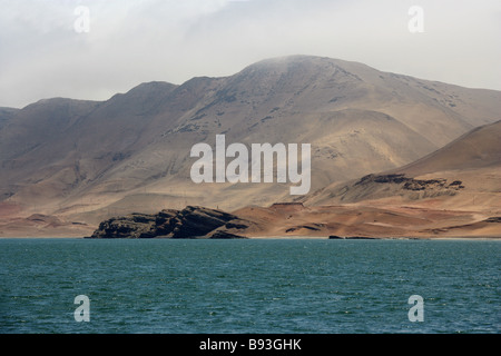 San Lorenzo Island, Callao Islands, Lima, Peru, South America - Stock Image