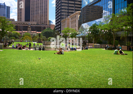 Post Office Square Brisbane Queensland Australia - Stock Image