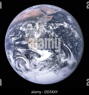 The Earth seen from space. - Stock Image