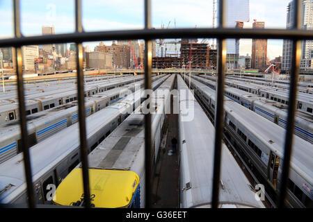 West Side Yards, New York, NY, USA - Stock Image