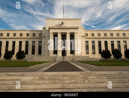 Federal Reserve Building, Washington DC - Stock Image
