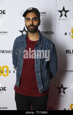 '90 Minutes' Launch Event hosted by executive producer Rio Ferdinand and director Simon Baker to celebrate the digital download and DVD release on 1 April  Featuring: Waleed Akhtar Where: London, United Kingdom When: 19 Mar 2019 Credit: PinPep/WENN.com - Stock Image
