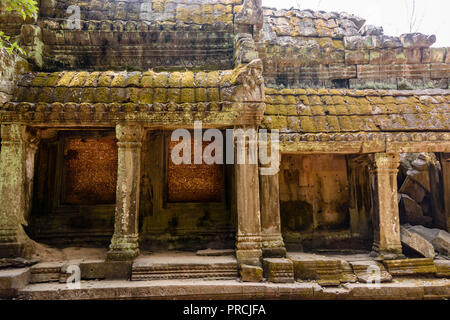Unesco World Heritage site of Ankor Thom, Siem Reap, Cambodia - Stock Image