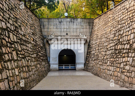 Entrance To Ming Tombs Beijing China - Stock Image