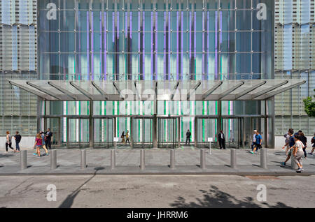 Entrance of One World Trade Center - Stock Image
