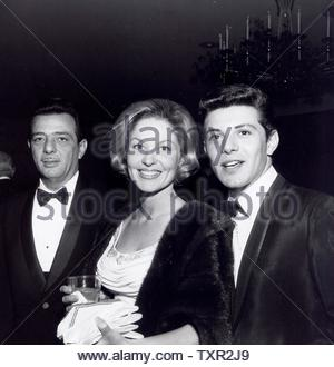 Frankie Avalon with Kay Diebel at Helpers.. Credit: 4345299Globe Photos/MediaPunch - Stock Image