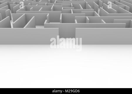 Labirynth - Copyspace - Stock Image