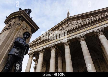 The Royal Exchange, London, England, United Kingdom - Stock Image