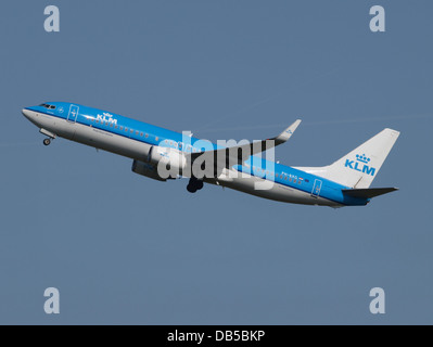 PH-BXG KLM Royal Dutch Airlines Boeing 737-8K2(WL) - cn 30357 1 - Stock Image