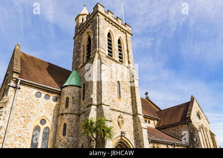 St. Augustine's church, Honor Oak Park, London, England, United Kingdom - Stock Image