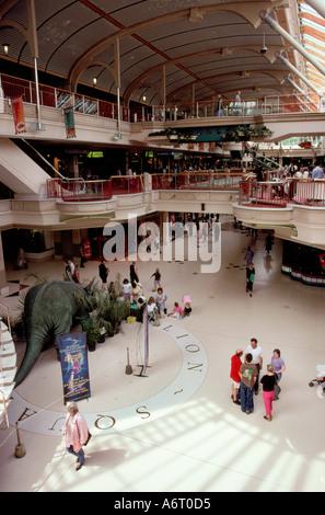 Norwich Castle Mall shopping centre Norfolk England UK - Stock Image